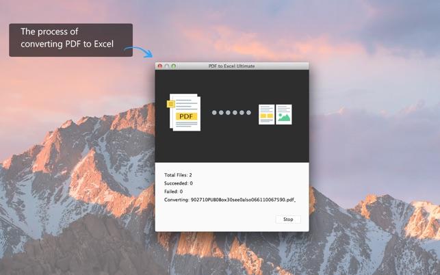 PDF Converter für Excel Screenshot