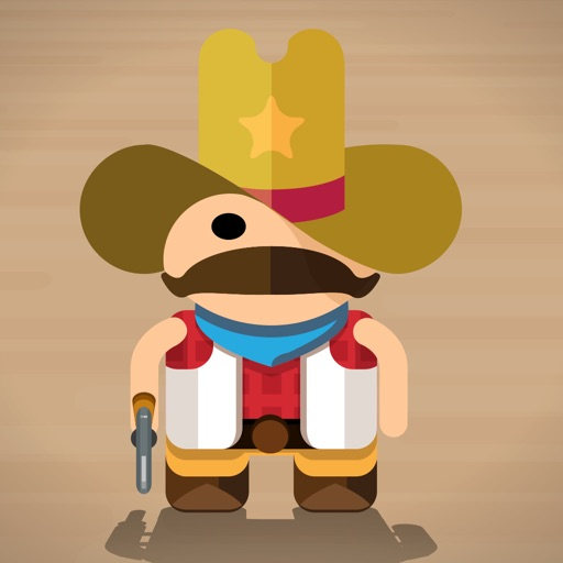El Bandito - Ready Steady Shoot - Addicting Cowboy Gunslinger One Touch Phone Game iOS App