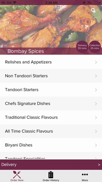 App Shopper Bombay Spices Liverpool Food Drink