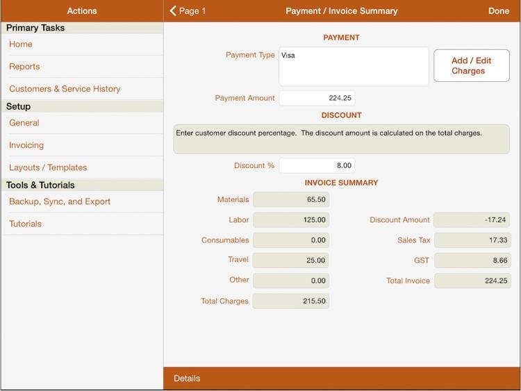 mpengo Service Sheet screenshot-3