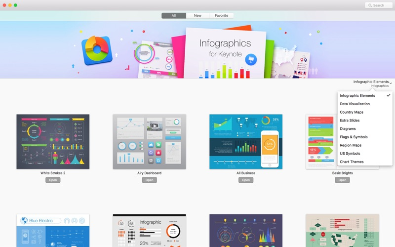 Infographics Lab for Keynote Mac 3.3.4 破解版 - Keynote图表模板