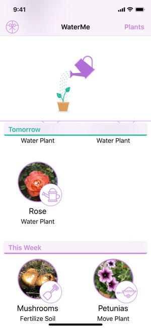 WaterMe - Gardening Reminders on the App Store