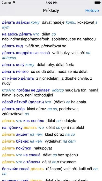 Lingea Rusko-český velký slovník screenshot-3