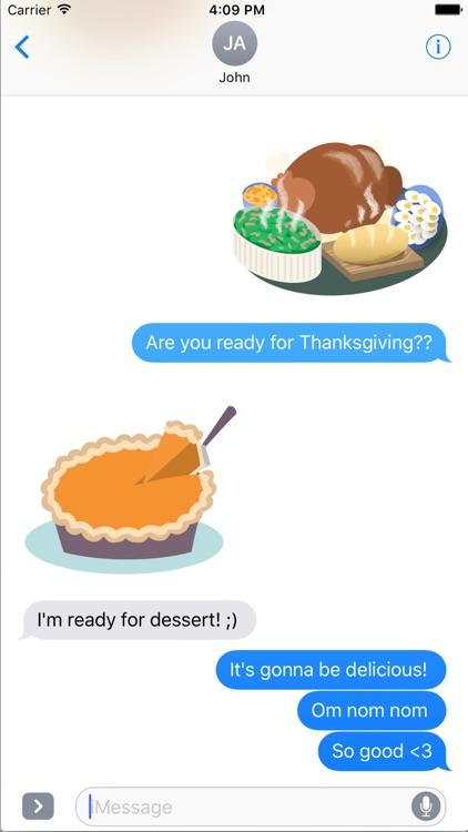 Thanksgiving Stickers- Turkey Time!