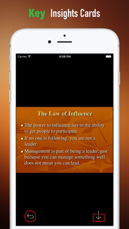 Quick Wisdom from Irrefutable Laws of Leadership screenshot-3