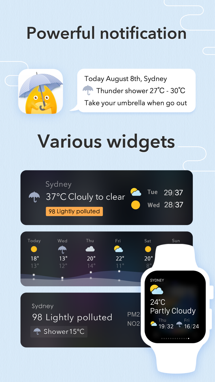 MyWeather - 10-Day Forecast Screenshot
