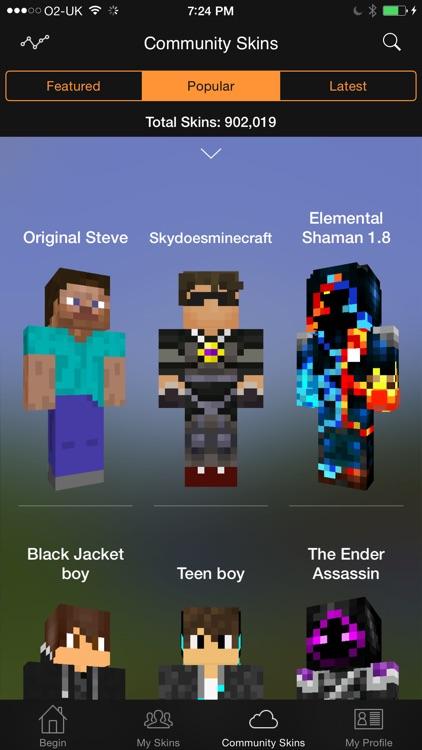Minecraft: Skin Studio screenshot-3