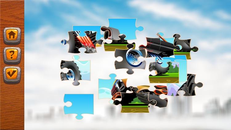 jigsaw puzzle car amazing learning education free screenshot-4