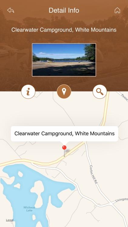 New Hampshire Camping screenshot-3