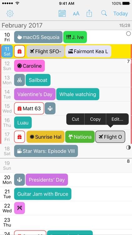 Month Calendar 2