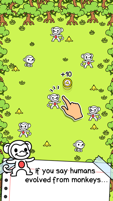 Download Monkey Evolution | Wild Ape Incremental Clicker Game for Pc