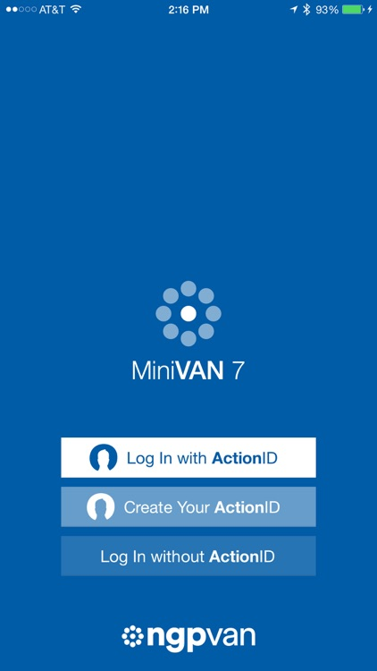 MiniVAN Touch screenshot-0