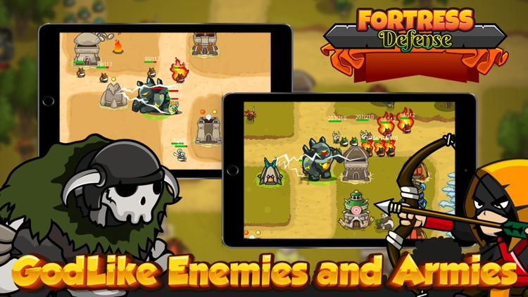 Fortress Tower Defense - Td Game & Epic Empire