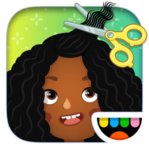Toca Hair Salon 3 application logo