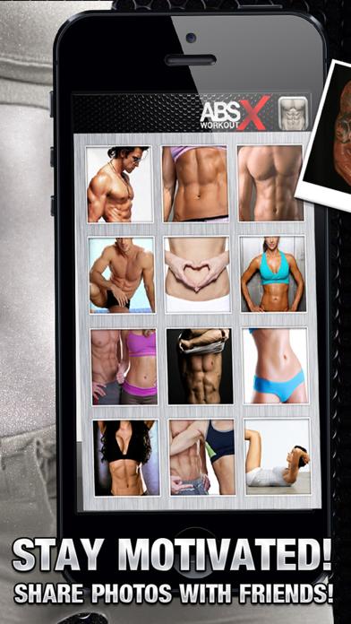 腹筋運動 Xのおすすめ画像4