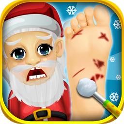 Christmas Foot Spa Doctor - little santa baby salon kids games for boys & girls!