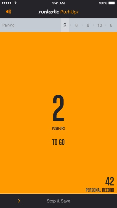 Screenshot for Runtastic Push-Ups PRO Trainer in Czech Republic App Store