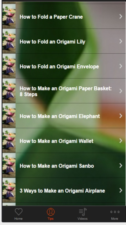 Origami Tips - Learn How to Do Origami screenshot-1