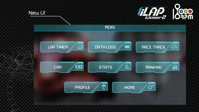 iLapTimer 2:Motorsport GPS Lap Timer & Data Logger screenshot one
