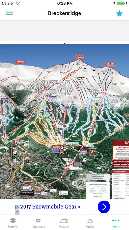 OnTheSnow Ski & Snow Report screenshot-3