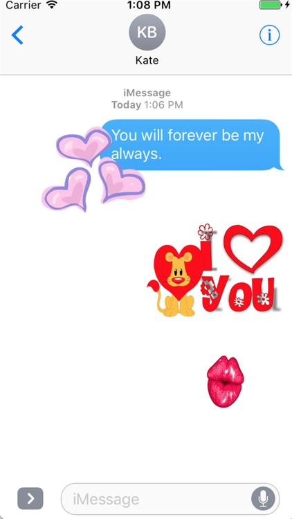 I Love You Sticker Pack screenshot-2