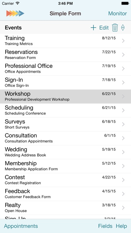 Simple Form for iPhone screenshot-3