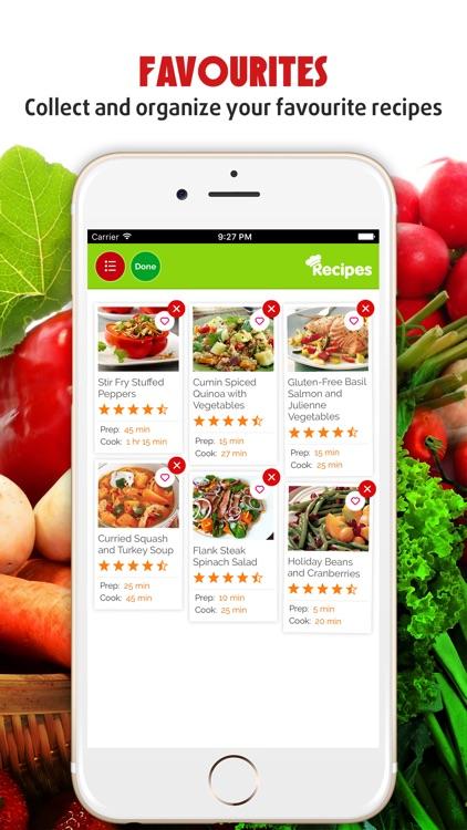 2000+ Vegetable Recipes screenshot-3