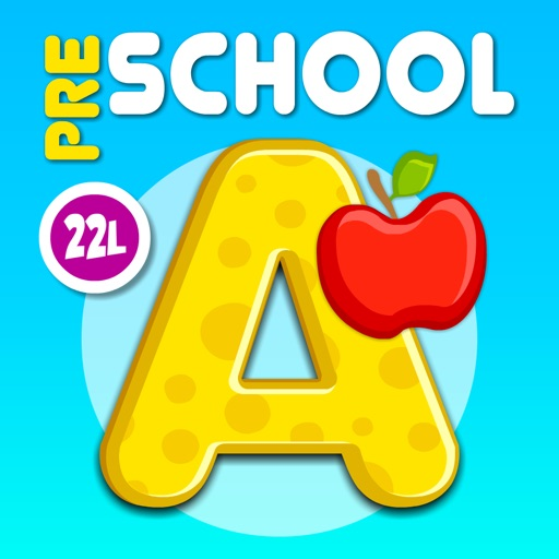Preschool & kindergarten all in one learning games icon