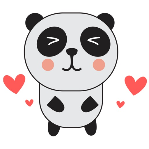 PandaMoji - Panda Stickers for iMessage icon