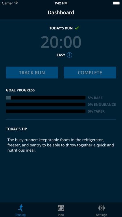 MapMyRun Trainer - 5k, 10k, Marathon, Half Marathon Training Plans screenshot-3