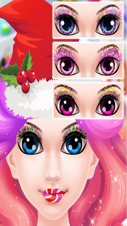 Christmas Candy Spa Makeover - Sweet Make Up Me