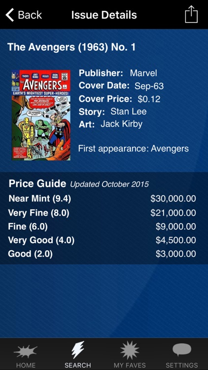 Zap-Kapow! The Comic Book Price Guide screenshot-0