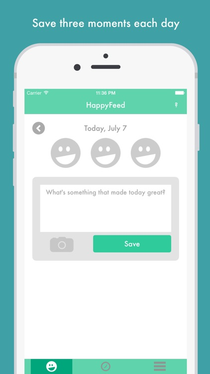 HappyFeed - Private gratitude journal and diary