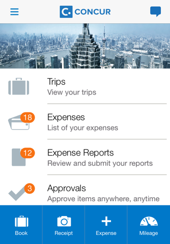 SAP Concur screenshot 1