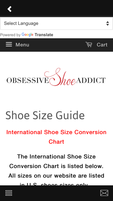 点击获取Obsessive Shoe Addict