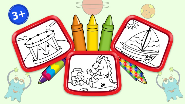 Kids Coloring Book and Patterns