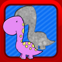 Dinosaur Matching Puzzles Games for Kids and Baby