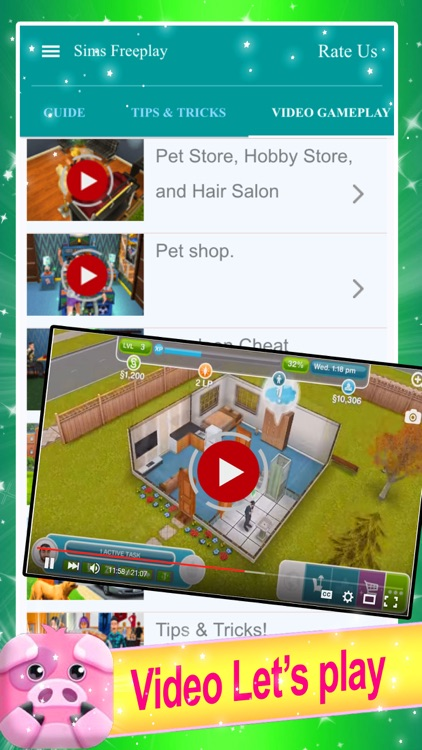 Guide for The Sims Freeplay - Cheats screenshot-3