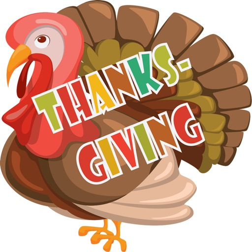 Thanksgiving Stickers Deluxe