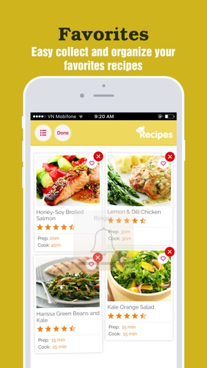 Heart healthy recipes best food for heart on the app store forumfinder Images