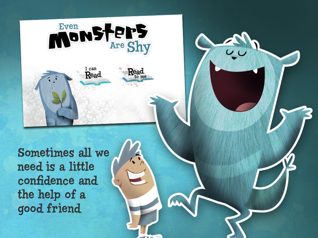 ‎Even Monsters Are Shy Screenshot