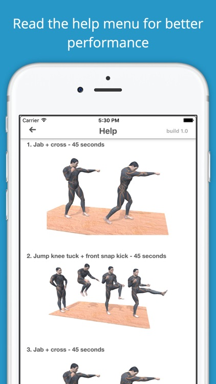 Fist of Fury Martial Arts Workout Challenge Free screenshot-4
