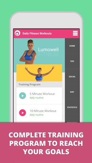 daily fitness workouts をapp storeで