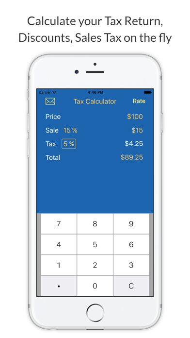 Sales Tax Calculator - Tax Return and Discount Calculations by