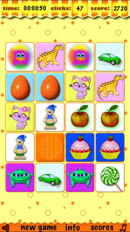 Memory matches brain trainer matching preschool toddler childrens educational training and match learning games for kids boys and girls for free screenshot-4