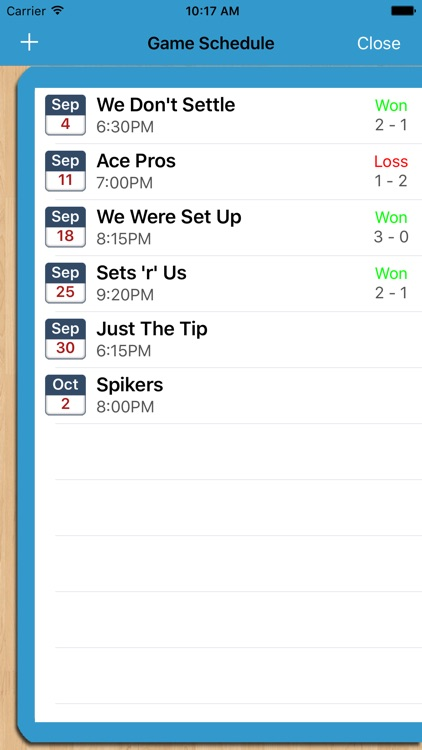Volleyball Planner screenshot-4