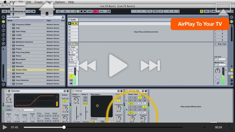 Course For Ableton Live Effects: Plugged In! screenshot-3
