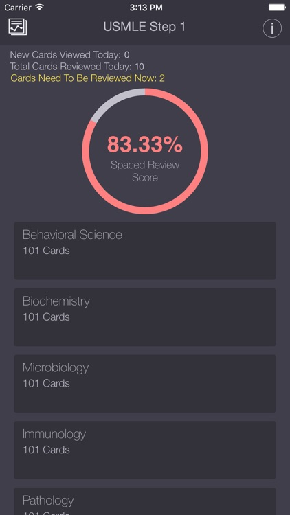 USMLE Step 1 Lite Flashcards App Free with Progress Tracking