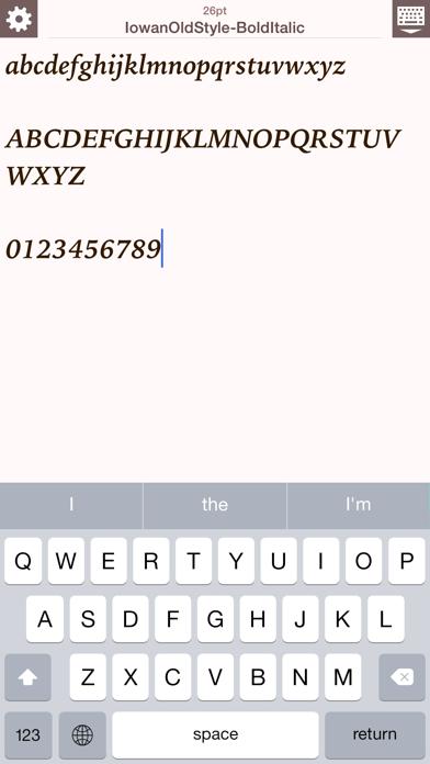 FontCatalog ScreenShot2