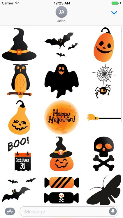 Crazy Halloween Sticker for iMessage #5